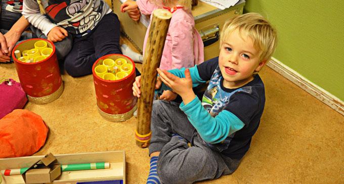 Klåjnklådan har mött mer än 250 barn under 2016. Foto: Lilian Henriksson