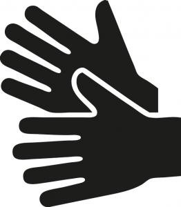 Teckenspråksymbol